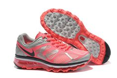 Nike Air Max 2012 White Anthracite Hot Punch Pro Platinum-Womens