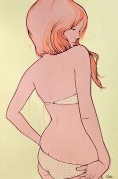 Timba's Art Dept. #sexy #acrylic #timba #smit #painting #lady