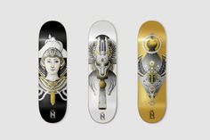 Deck For the Nomad secret societies collection.
