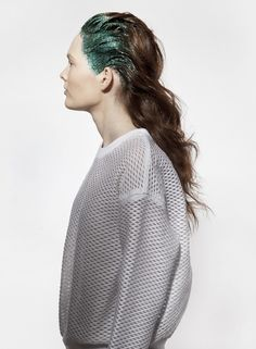 trendwall | 8198 #fashion #glitter #white #hair