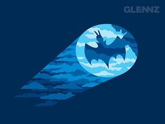 FFFFOUND! | www.glennz.com Tee Designs on the Behance Network #funny #batman