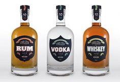 Civilized_01.jpg (image) #alcohol #design #label #bottle