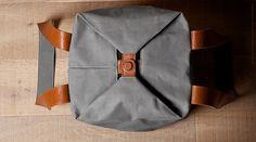 Hardgraft Cube tote #tote #accessories #bags #menm #fashion #canvas