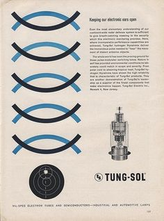Tung-Sol Ad | Flickr - Photo Sharing! #illustration #vintage #graphic #page