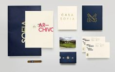Graphic-ExchanGE - a selection of graphic projects #identity #collateral #luxury