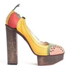 Fruit Shoes | CMYBacon #fruit #shoe