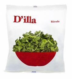 Ensaladas D'illa | nosolotinta. #packaging #salad #nosolotinta #branding