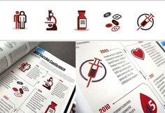 Lisi Design Journal #illustration #pharmacy #icons #magazine