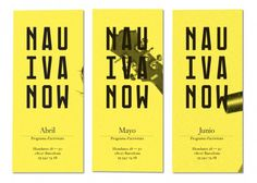 La Nau Ivanow | StudioAparte #logotype #aparte #grid #ivanow #identity #studio #nau #brochure #typography