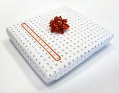 Crossword Puzzle Wrapping Paper (5 pics) - My Modern Metropolis #greetings