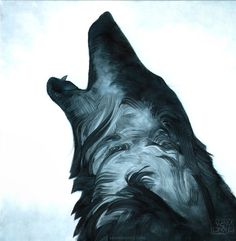 Painting #wolf #painting
