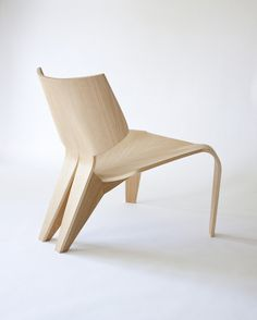 Split Chair by Bahar Ghaemi #chair #minimalist
