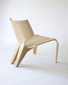 Split Chair by Bahar Ghaemi