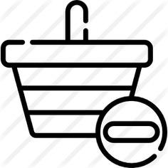 See more icon inspiration related to remove cart, commerce and shopping, shopping basket, store, container, basket, purchase, shop and shopping on Flaticon.