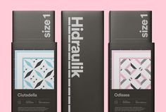 Hidraulik by Huaman #print #graphic design #packaging #box