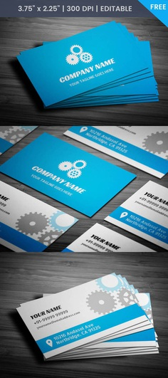 Free Auto Repair Business Card Template