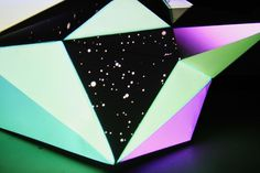 Mantra Galactica : the cameo kid #spiritual #projection #sculpture #mapping #color #geometric #space #cult #art #polygonal #cameokid #light