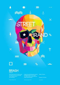 BRASH Poster on Behance