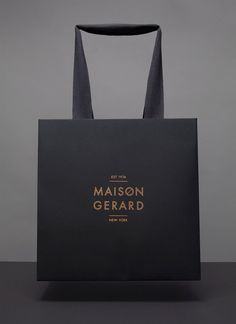 lovely stationery maison gerard 6 #branding #bag