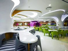 More Than a Place to Eat - lotte amoje food capital #karim #design #rashid #restaurant