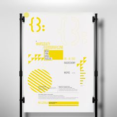 Visual Identity for public libraries on Behance #graphics #yellow #design #poster