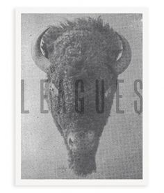 A. Micah Smith » Blog Archive » Leagues Poster #poster #gray #bitmap #buffalo #a micah smith #leagues