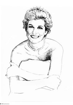 Diana Spencer on Dropula The inspirational catalogue #uk #royal #diana #smile #collar #white #princess #royalty #blonde #di #lady #diva #england #london #blue #queen #spencer #happy #eyes #dress #whales
