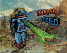 • MAMA TRIED : CURTIS JINKINS #painting