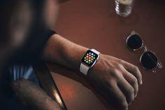Free Photorealistic Apple Watch Mockup