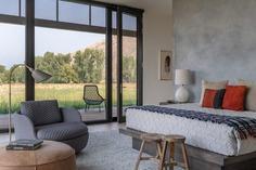 bedroom, Carney Logan Burke Architects