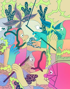 Patrick Kyle | PICDIT #design #illustration #art #graphic #drawing #digital