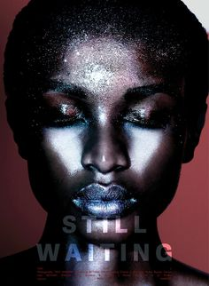 Still Waiting #volt #makeup #photography #voltcafe #editorial #magazine