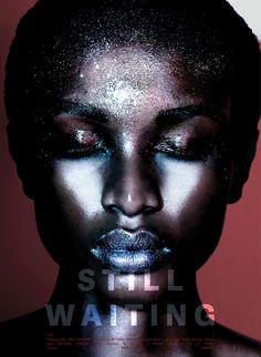 Still Waiting #volt #makeup #photography #voltcafe #editorial #magazine