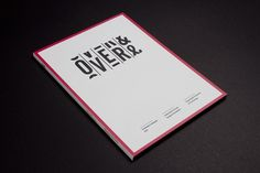 Over and Over Exhibition : Luke Robertson #typography