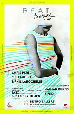 Beat Boutique 2012 #crayon #cover #poster #fashion #layout #pencil #editorial