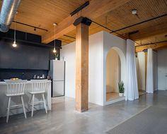 Studio Loft Broadview in Toronto, Canada