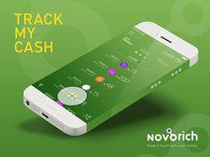 Track My Cash Mobile App