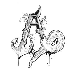 Love Letters Hand Drawn Alphabet on Behance