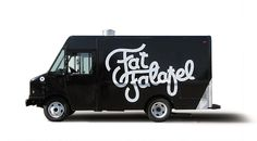 Fat Falafal #logo #branding #truck #food #vehicle