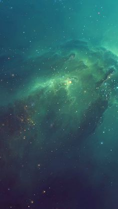 Green Starry iPhone 6 Wallpaper