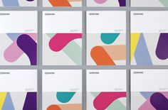New Logo and Identity for Cerovski by Bunch #branding #books #covers #set #identity #magazine #pastel
