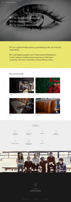 checklandkindleysides.com design agency uk studio webdesign website web inspiration inspire best modern minimal website award trend designbl