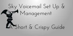#skytalk #voice #mail #setup