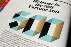 Fortune 500 welcome page
