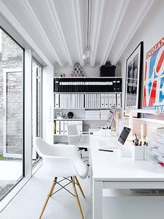 white workspace #white #workspace