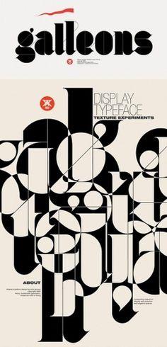 100 Magnifiques visuels de typographie - Blog Du Webdesign Magazine #type #janco #aron #galleons