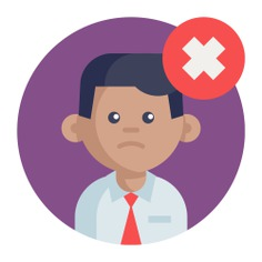 See more icon inspiration related to user, worker, firing, dismissal, employee, networking and business on Flaticon.