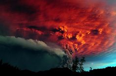 Chile's Puyehue Volcano Erupts | InspireFirst #puyehue #photograph #landscape #volcano #chile