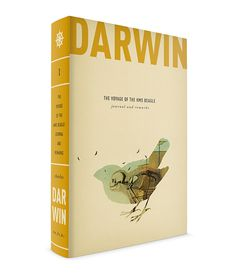 DARWIN BOOK SERIES - Caleb Heisey Design most beautiful cover ever... #cover #darwin #book #love