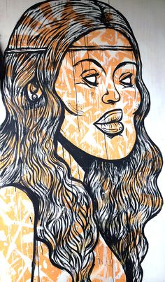 Mike Watt live-paint #paint #mikewatt #streetart